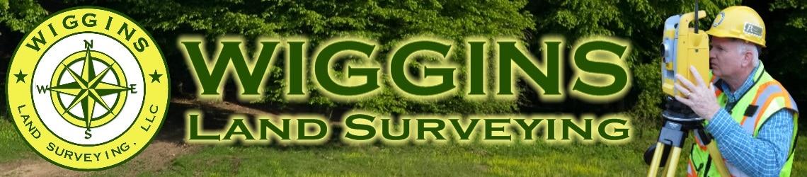 Wiggins Land Surveying Header
