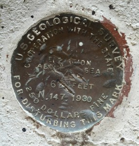 U.S. Geological Survey Monument Porterdale GA