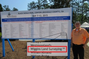 Wiggins Land Surveying Contributed to Moving Vietnam Wall